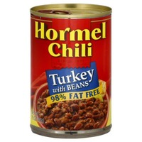 Hormel Turkey W/Beans 98% Fat Free Chili