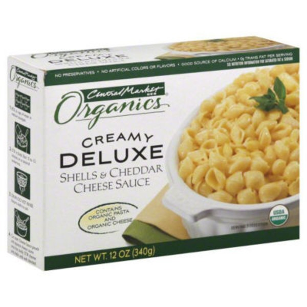 Central Market Creamy Deluxe Shell & Cheddar Cheese Sauce