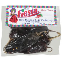 Fiesta Brand New Mexico Chili Pods Hot & Spicy