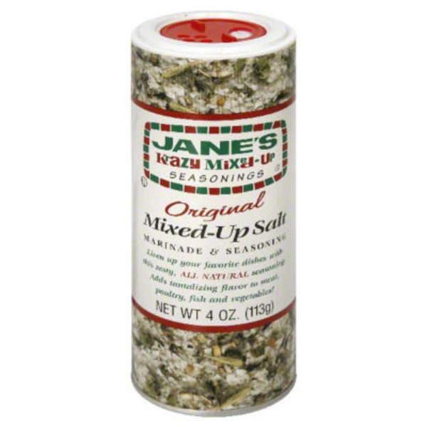 Jane's Krazy Mixed-Up Seasonings Mixed-Up Salt