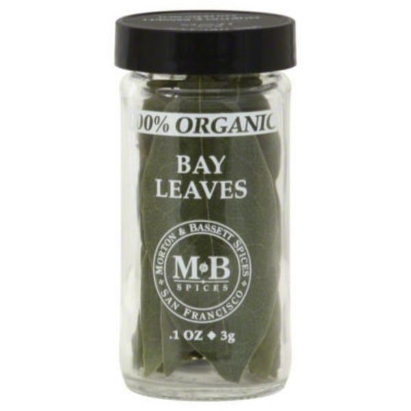Morton & Bassett Spices Organic Bay Leaves