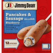 Jimmy Dean Blueberry Pancakes & Sausage Breakfast On A Stick