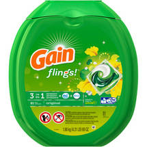 Gain flings! Plus Oxi Boost Plus Febreze Freshness Original Laundry Detergent