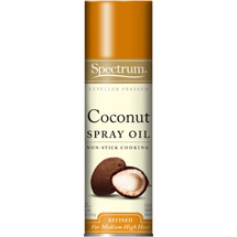 Spectrum Naturals Non-Stick Cooking Coconut Oil Spray