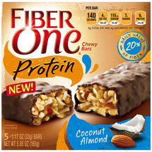 Fiber One Protein Coconut Almond Chewy Bars