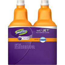 Swiffer WetJet with Dawn Multi-Purpose Cleaner Refill