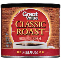 Great Value Classic Roast Medium Ground Coffee
