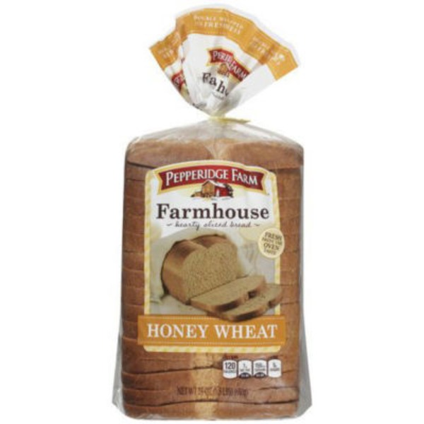 Pepperidge Farm Fresh Bakery Farmhouse Honey Wheat Bread