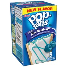 Kellogg's Pop-Tarts Frosted Blue Raspberry Toaster Pastries