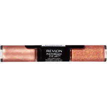Revlon Photoready Eye Art Shadowith Sparkle Duo 060 Peach Prism