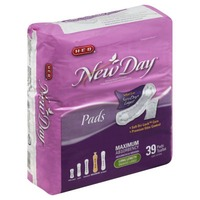 H-E-B New Day Long Length Maximum Absorbency Pads