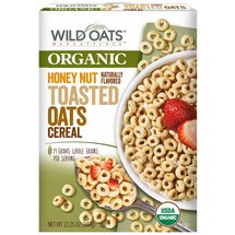Wild Oats Marketplace Organic Honey Nut Toasted Oats Cereal