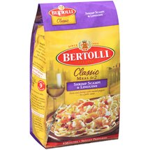 Bertolli Classic Meal for 2 Shrimp Scampi & Linguine