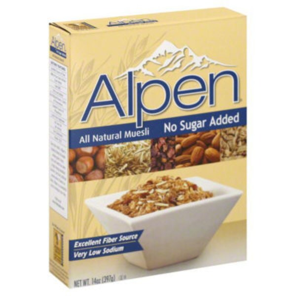 Alpen No Sugar Added Muesli