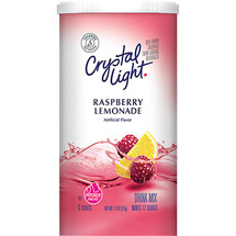 Crystal Light Sugar Free Raspberry Lemonade Drink Mix