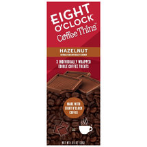 Eight O'Clock Coffee Thins Hazelnut Edible Coffee Treats