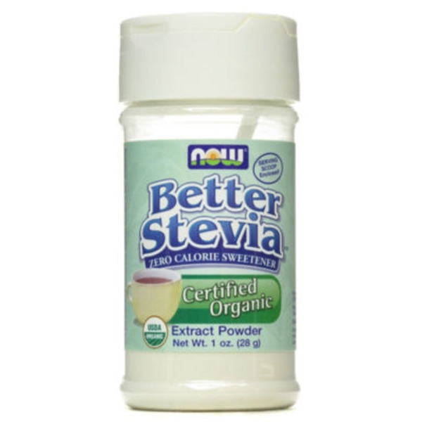 NOW Organic Better Stevia Extract Powder