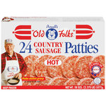Purnell's Old Folks Hot Country Sausage Patties