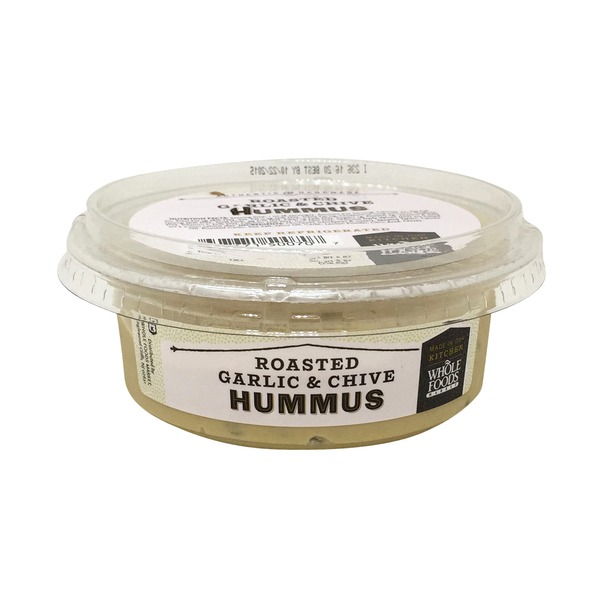 Whole Foods Market Roasted Garlic & Chives Hummus