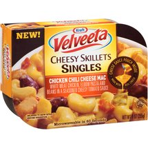 Kraft Velveeta Cheesy Skillets Singles Chicken Chili Cheese Mac