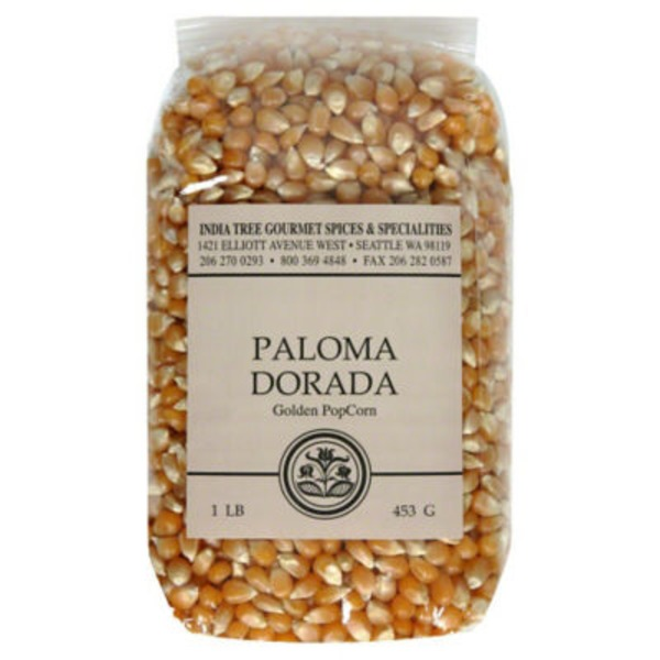 India Tree Paloma Dorada Golden Popcorn