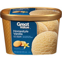 Great Value Homestyle Vanilla Ice Cream