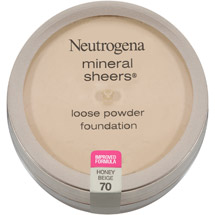 Neutrogena Mineral Sheers Loose Powder Foundation 70 Honey Beige