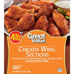 Great Value Frozen Wing Sections