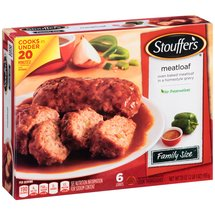 Stouffer's Family Size Meatloaf