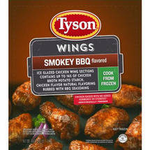 Tyson Smokey BBQ Seasoned Wings