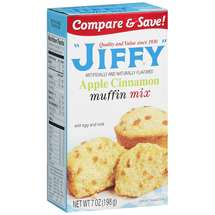 Jiffy Apple Cinnamon Muffin Mix
