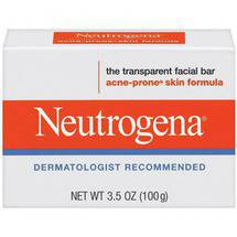 Neutrogena Acne Prone Skin Formula Facial Bar