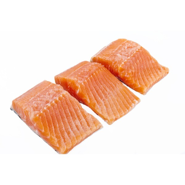 Frozen Vacpack Salmon Portions