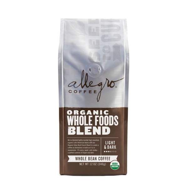 Allegro Coffee Organic Whole Foods Blend Ground Coffee