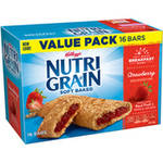 Kelloggs Nutri-Grain Strawberry Cereal Bar