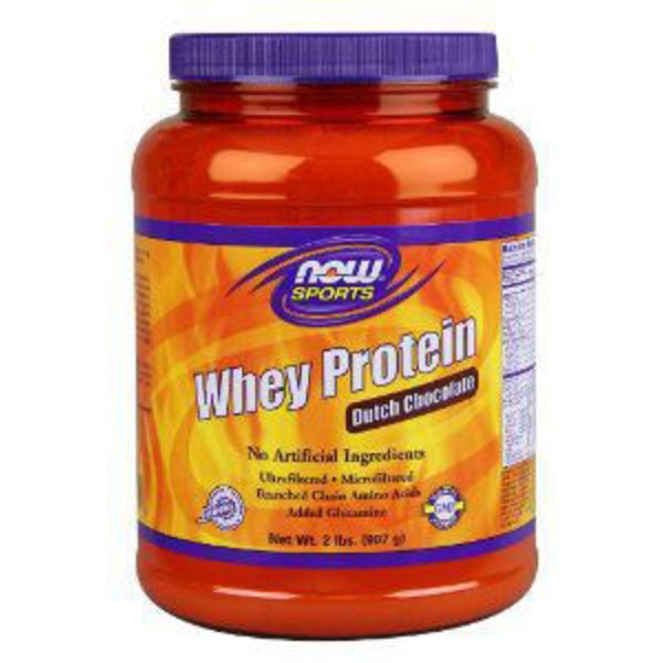 Now Sports Dutch Chocolate Whey Protein