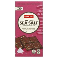 Alter Eco Dark Sea Salt Organic Chocolate