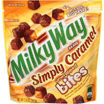Milky Way Simply Caramel Bites Unwrapped Candy