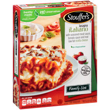 Stouffer's Family Size Lasagna Italiano