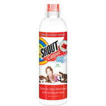 Shout Carpet Oxy Fresh Scent Stain & Odor Remover with Brush Head