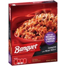 Banquet Lasagna with Meat Sauce Frozen Entree