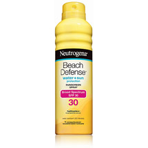 Neutrogena Beach Defense Broad Spectrum Sunscreen Spray SPF 30