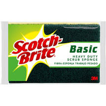 Scotch-Brite Basic Heavy Duty Scrub Sponge