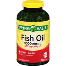 Spring Valley Fish Oil Dietary Supplement