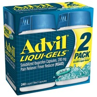 Advil Ibuprofen 200mg Liquigels