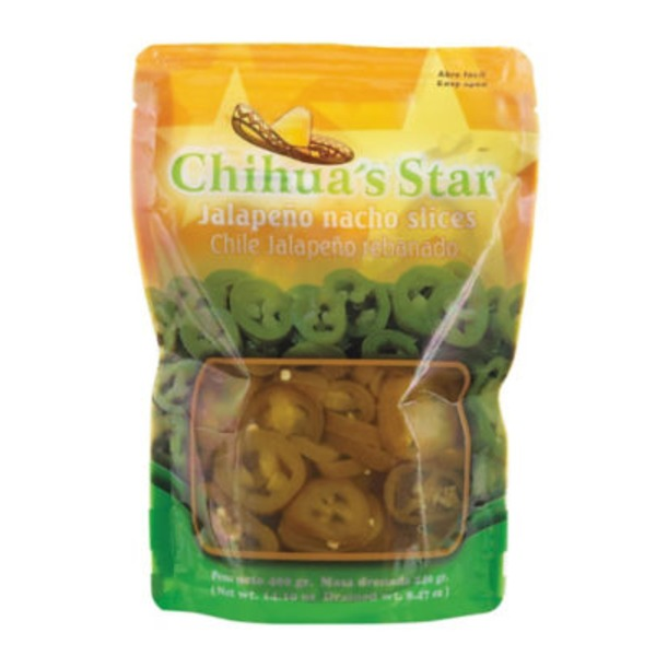 Chihuas Star Jalapeno Nacho Slices