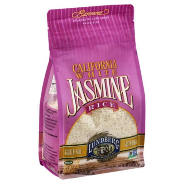 Lundberg Family Farms EF California White Jasmine Eco-Farmed 2 lb Rice