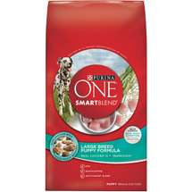 Purina ONE SmartBlend Large Breed Puppy Formula Puppy Premium Dog Food
