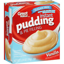 Great Value Sugar Free Vanilla Instant Pudding & Pie Filling
