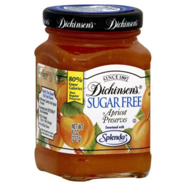 Dickinsons Sugar Free Apricot Preserves